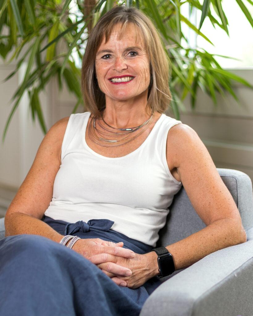 Brigitt Küttel, Geschäftsführerin und Stiftungsgründerin